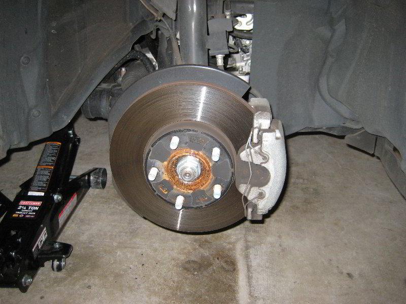 mazda mazda3 front brake pads replacement guide 006. Black Bedroom Furniture Sets. Home Design Ideas
