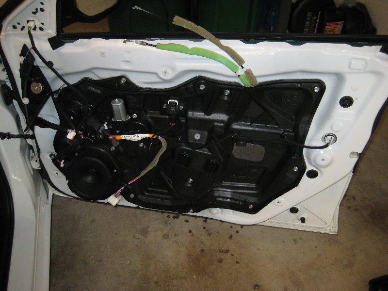 Service manual removing inner door panel on a 2004 mazda - 2010 mazda 3 interior door handle ...