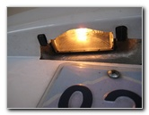Mazda Mazda3 License Plate Light Bulbs Replacement Guide
