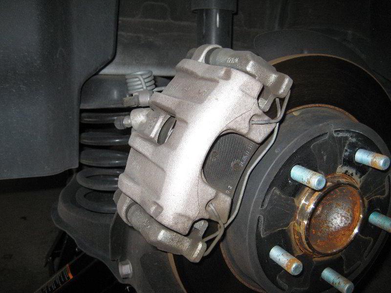 mazda mazda3 rear brake pads replacement guide 007. Black Bedroom Furniture Sets. Home Design Ideas
