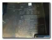 pull off fuse box cover · mitsubishi-mirage-electrical-fuse-replacement -guide-005