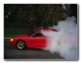 Ford Mustang Cobra Line Lock Burnout Pictures