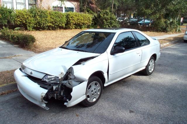 Nissan 200sx Crash 03