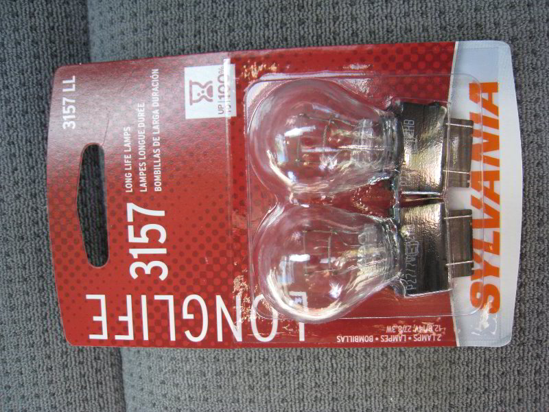 how to break lightbulb partially