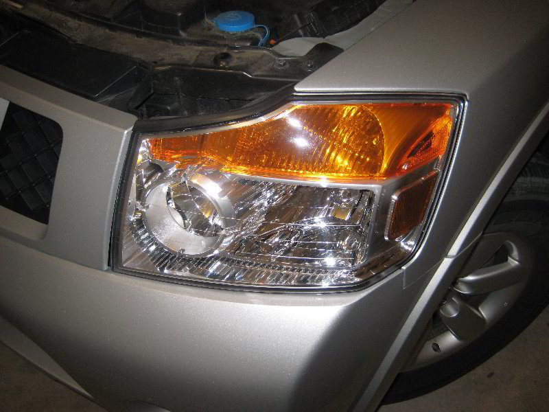 Burnt Out Headlight : Nissan armada headlight bulbs replacement guide