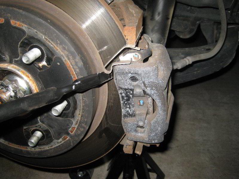 Nissan Armada Rear Brake Pads Replacement Guide 012