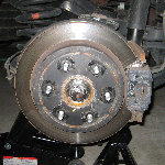 Nissan Armada Rear Brake Pads Replacement Guide