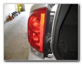 Nissan Armada Tail Light Bulbs Replacement Guide Brake