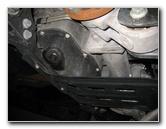 nissan armada 5.6l v8 vk56de engine oil change & filter ... nissan armada fuel filter