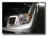 Nissan Frontier Headlight Bulbs Replacement Guide 001