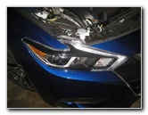 2016-2018 Nissan Maxima Headlight Bulbs Replacement Guide