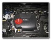 2016-2018 Nissan Maxima VQ35DE 3.5L V6 Engine Oil Change Guide