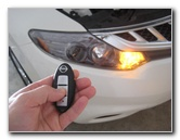 2009-2014 Nissan Murano Smart Key Fob Battery Replacement Guide