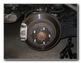 Nissan Rogue Rear Brake Pads Change Guide