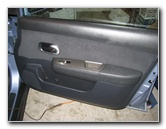 Nissan Versa Front Door Panel Removal Guide