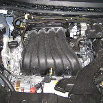 Nissan Versa 1.8L Engine Oil Change Guide