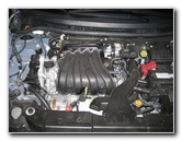 Nissan Versa 1.8L MR18DE Engine Oil Change Guide