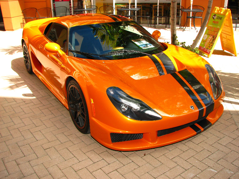 Exotic Foreign Sports Cars