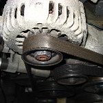 GM Pontiac Grand Prix Alternator Replacement