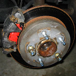 Grand Prix Rear Brake Pads Replacement Guide