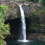Rainbow Falls - Hilo, Big Island, Hawaii