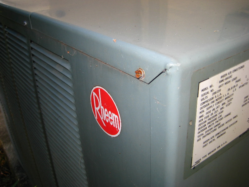 rheem hvac condenser run capacitor replacement guide 008
