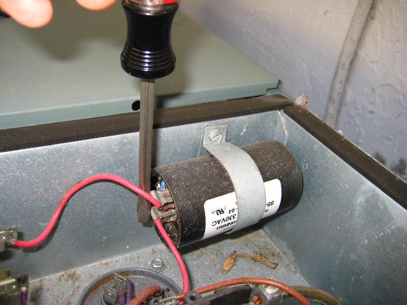rheem hvac condenser run capacitor replacement guide 017