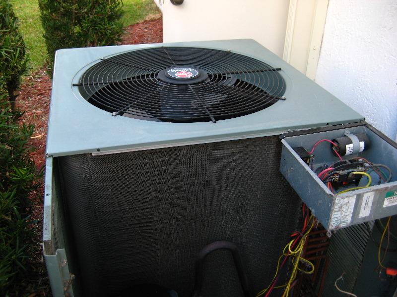 rheem hvac condenser run capacitor replacement guide 021