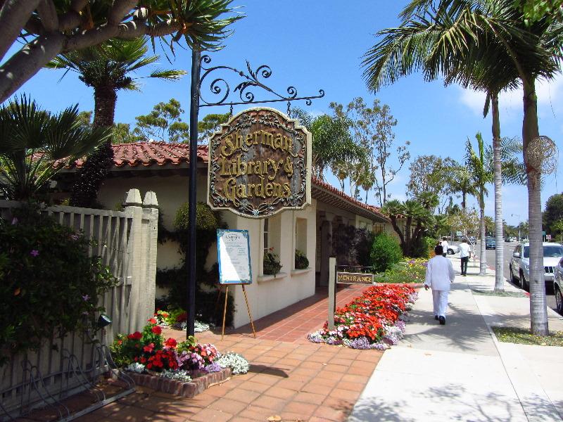 Beautiful Sherman Library And Gardens Corona Del Mar Orange County CA 001