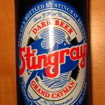 Stingray Dark Beer Review - Grand Cayman Island Product