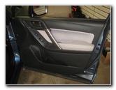 2014-2018 Subaru Forester Plastic Interior Door Panel Removal Guide