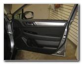 2015-2018 Subaru Outback Plastic Interior Door Panel Removal Guide