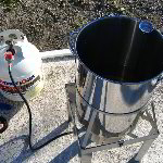 How To Deep Fry A Turkey With A Propane Powered Deep Fryer