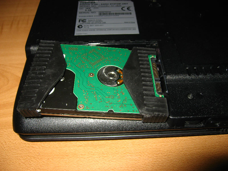 Toshiba A105 Laptop Hdd Ram Upgrade 010