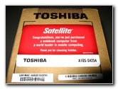 Toshiba Satellite A105 S4254 Laptop Review