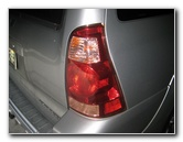 Toyota 4Runner Tail Light Bulbs Replacement Guide