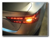 2013-2017 Toyota Avalon Tail Light Bulbs Replacement Guide