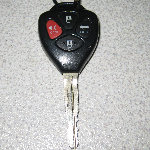 Toyota Camry Key Fob Battery Replacement Guide