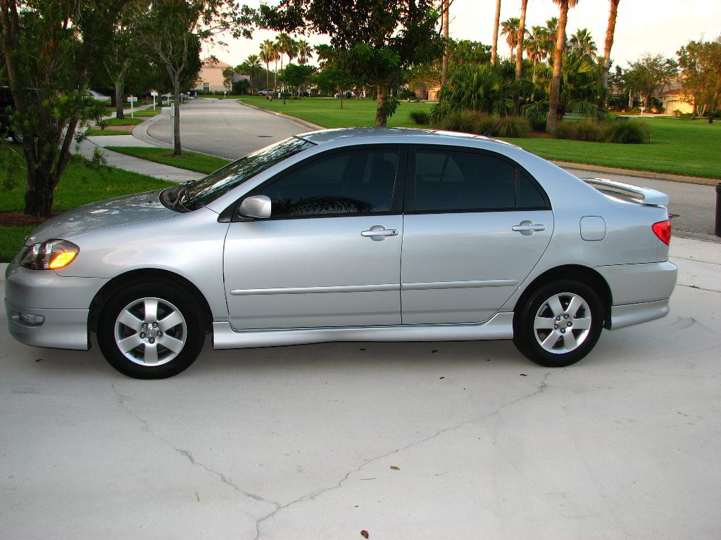 2005 toyota corolla s 25k miles 15 200 obo ft lauderdale fl silver auto toyota. Black Bedroom Furniture Sets. Home Design Ideas