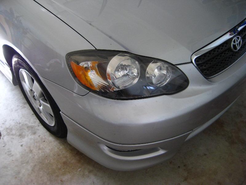toyota corolla headlight bulb replacement guide 001 rh paulstravelpictures com 2006 Corolla 2007 Corolla