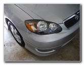 Toyota Corolla Headlight Bulbs Replacement Guide