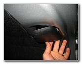 how to change brake light bulb toyota corolla