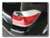 Toyota Highlander Tail Light Bulbs Replacement Guide
