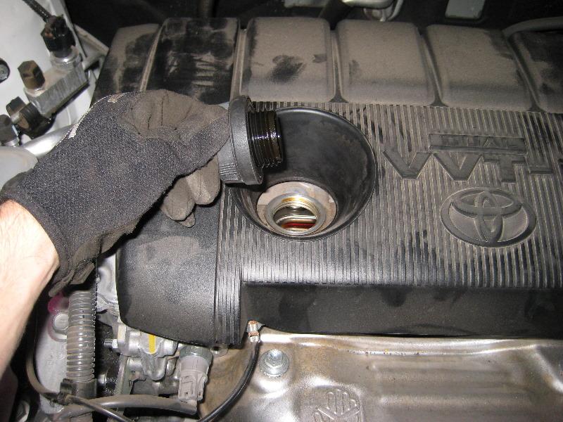 Toyota Rav4 2ar Fe I4 Engine Oil Change Guide 003
