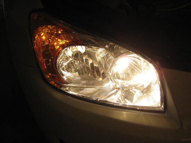 how to change rav 4 headlight