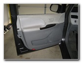 Toyota Sienna Interior Door Panel Removal Guide