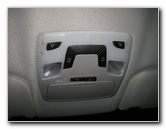 Toyota Sienna Map Light Bulbs Replacement Guide