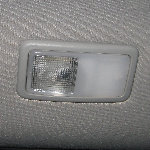 Toyota Sienna Rear Passenger Reading Light Bulbs Replacement Guide