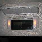 Toyota Sienna Vanity Mirror Light Bulb Replacement Guide