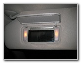 Toyota Sienna Vanity Mirror Light Bulbs Replacement Guide